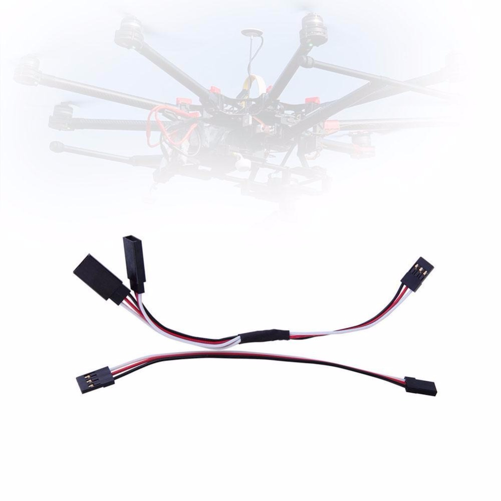 NEW 150mm Y Split Harness Cable Servo Leads Extension Wire For RC Helicopter