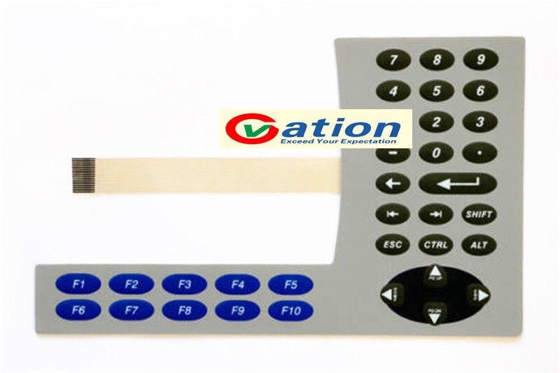 NEW For PanelView Plus 600 2711P-B6M5A 2711P-B6M5D Membrane Keypad 1pcs new panelview 900 2711 k9 2711 k9c 2711 k9c1 2711 k9c2 2711 k9c3 2711 k9c3x 2711 k9c5 2711 k9c8 membrane keypad