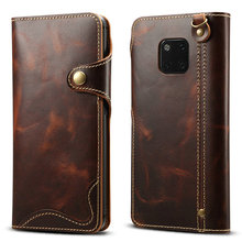 Real Leather For Huawei Mate 20 Pro Case Funda Huawei Mate 20Pro Case Flip Cover Wallet Protect for Huawei Mate 20 Case Mate20