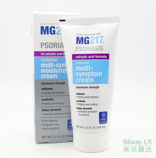 купить The spot! MG217 Psoriasis Medicated Multi-Symptom Moisturizing Cream по цене 1971.25 рублей