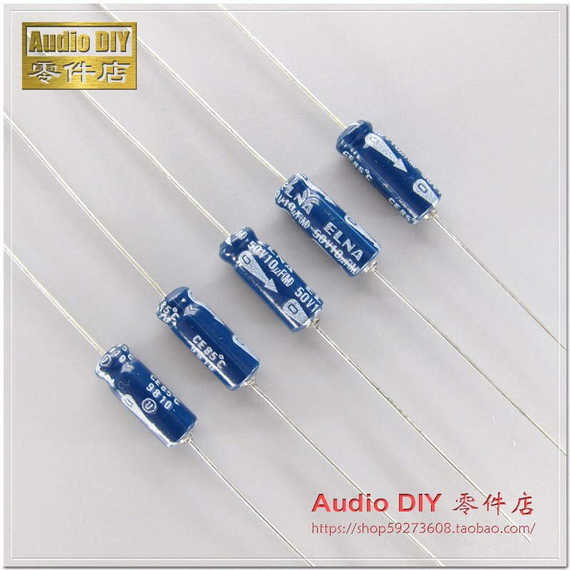 30PCS/50pcs ELNA old <font><b>10uF</b></font>/<font><b>50V</b></font> axial electrolytic <font><b>capacitor</b></font> AUDIO electrolytic <font><b>capacitor</b></font> FREE SHIPPING image