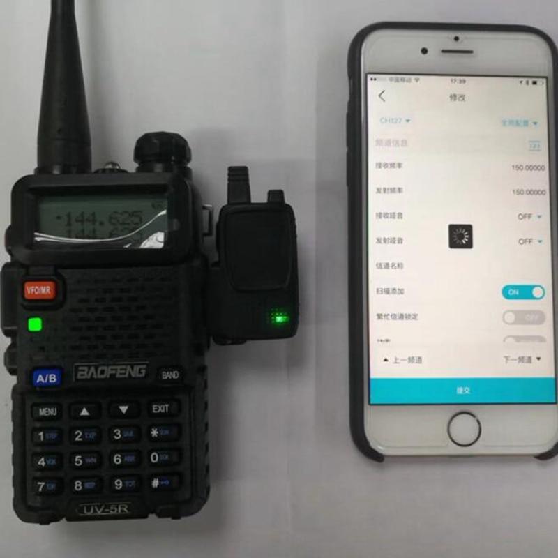 Baofeng talkie walkie bluetooth programme câble sans fil facile à utiliser pour baofeng UV-5R 888 s 666 s 777 s soutien utiliser sur Apple