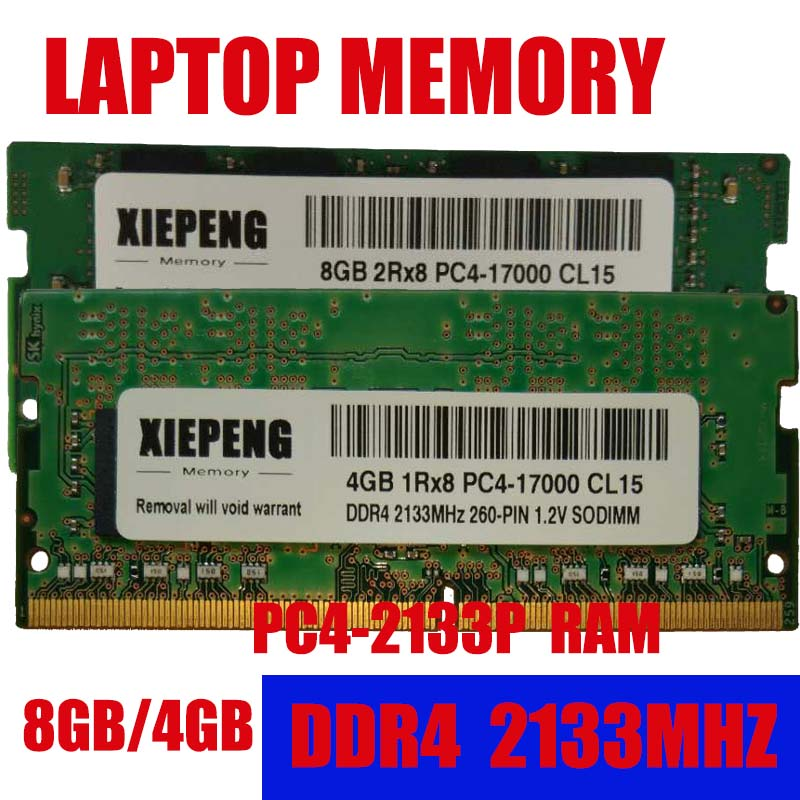 4GB DDR4 2133MHz PC4-17000 260 pin Sodimm Laptop Memory RAM 4G 2133