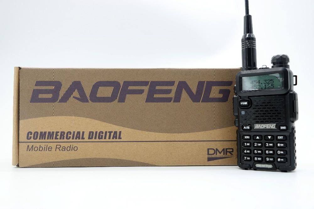 Baofeng DM 5R Plus Portable Radio VHF UHF Dual Band DMR Digital Anolog dual mode 5W