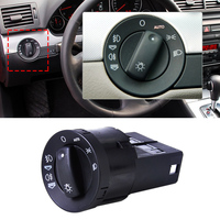 Car Front Black AUTO Function Headlight Foglights Switch Control 8E0941531D For Audi A4 B6 B7 2002