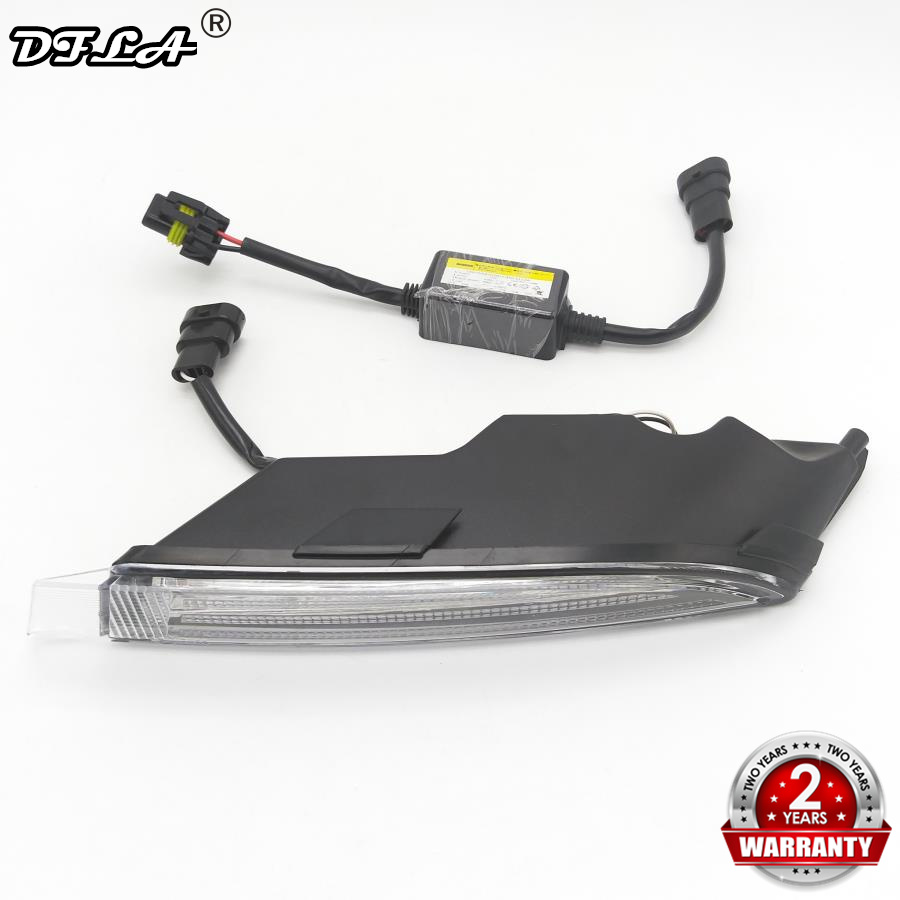 Left Side Light For VW Golf 6 R20 2009 2010 2011 2012 2013 Car-Styling LED DRL Daytime Running Light Waterproof Wire Of Harness golf 3 td 2011