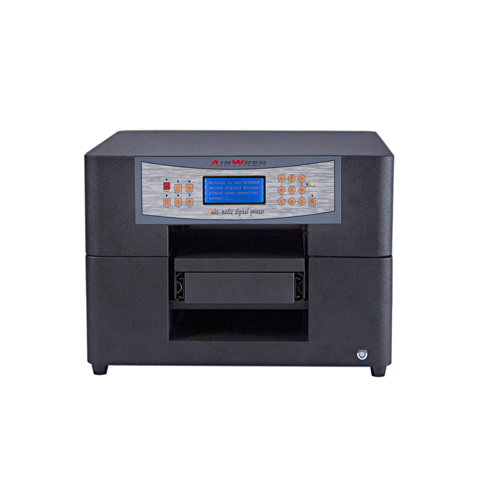 Automatic A4 Size Flatbed LED Multicolor UV Printer For Phone Case