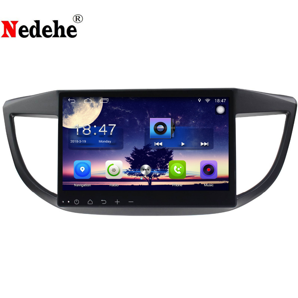 10.1 inch Quad Core Android 8.0 Car DVD GPS Navigation Car Radio Multimedia for HONDA CR-V CRV 2012 2013 2014