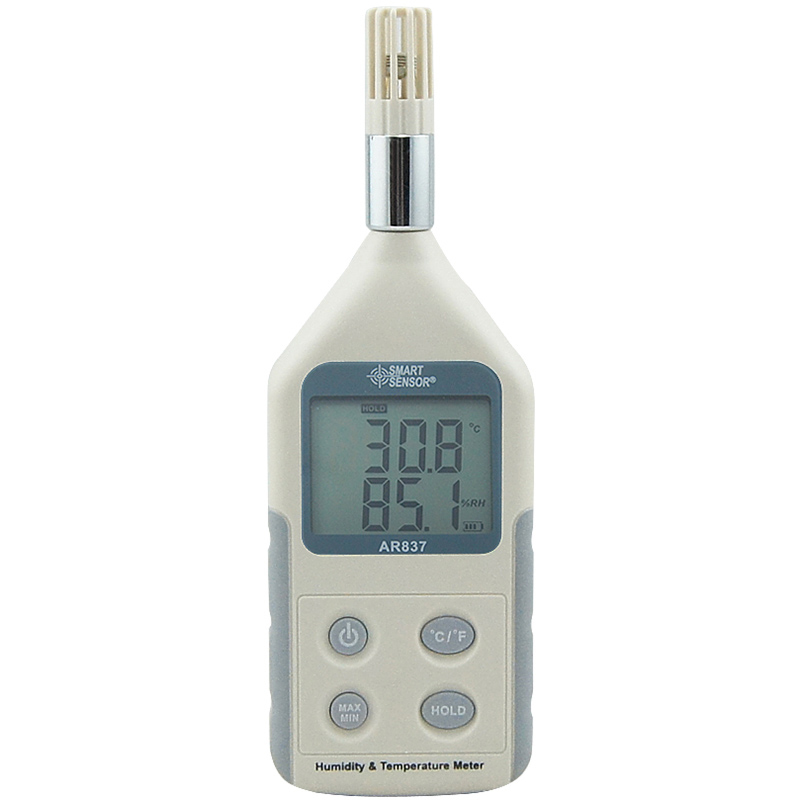 AR837 Digital Humidity Meter Thermometer Temperature Humidity Temperature Gauge Meter weather station digital lcd temperature humidity meter