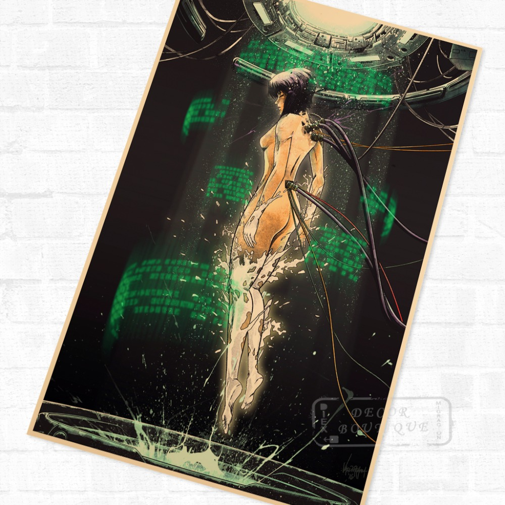 Top 10 Ghost Shell Poster List And Get Free Shipping 963hmcc4