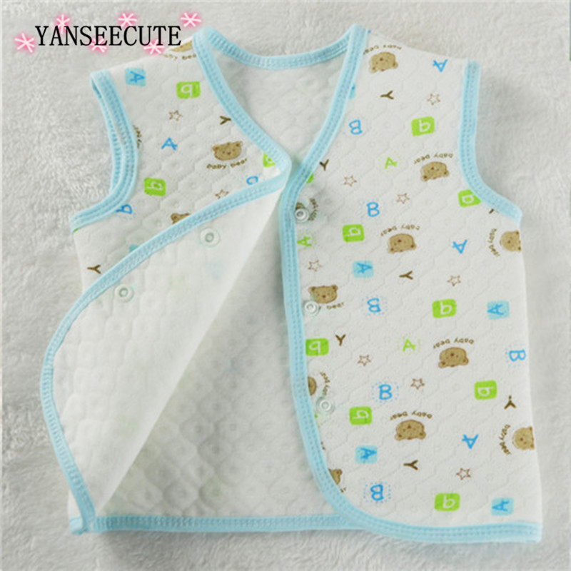 baby vests for newborn warm waistcoats vests and sleeveless jackets for girls baby boy winter sleeveless 1pcs/lot BYY-E02-1P