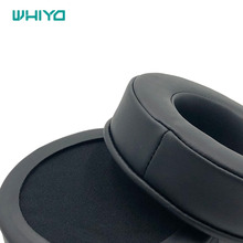 Whiyo 1 Pair of Ear Pads for HP OMEN 800 Headphones Cushion Cover Earpads Replacement Parts