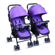 Light high landscape can be split single use twins trolley can sit can lie on the function of baby stroller