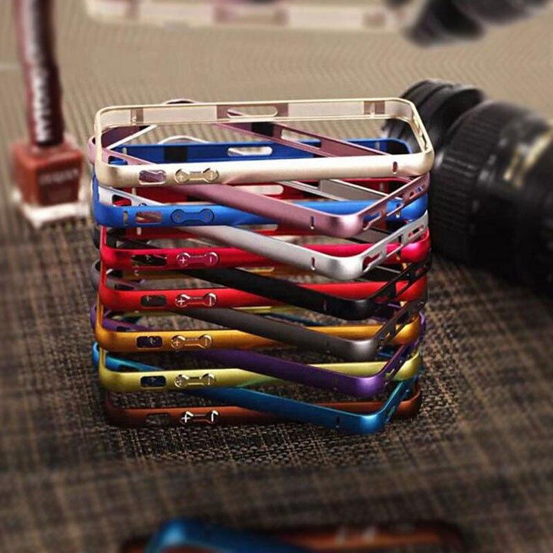 wangcangli Bumper on for iphone 5s Frame Case Cover for iPhone 5 5S Ultr a Thin Slim case cover for iphone 5 5s Case bumper on