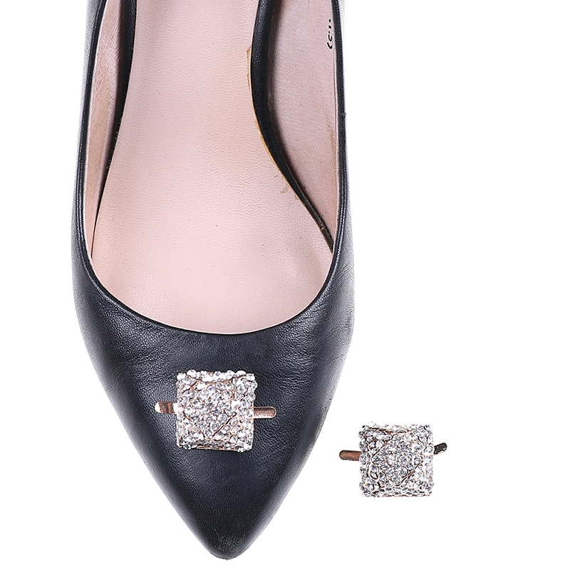 Detail Feedback Questions about 1PC Square Rhinestone Shoes Buckle Women  Bridal Prom Fashion Shoe Clips Elegant Shoes Decor Accessory on  Aliexpress.com ... e0ae7bbdd759