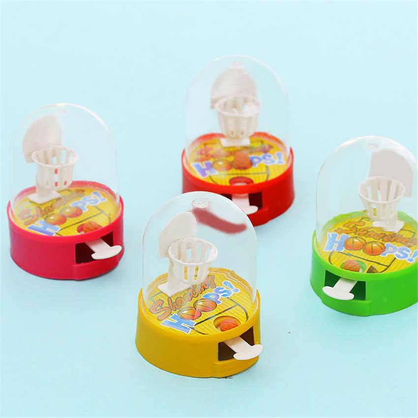 سطح البسيطة فنجر السلة ألعاب للأطفال لغز لعبة هدية صغيرة طاولة السلة الاطفال لعبة التعليم