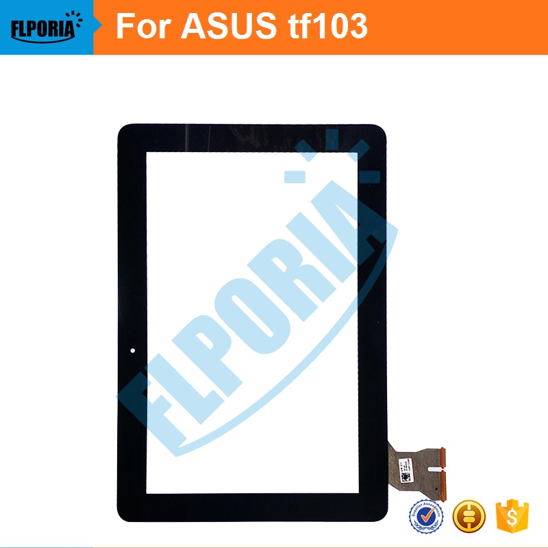 10.1 Inch Tablet Touch Panel For ASUS TF103 TF103C TF103CG LCD With Touch Screen Digitizer Front Glass With Flex Cable Assembly new b101ean01 6 lcd display screen touch screen digitizer assembly for asus transformer pad tf103 tf103cg gray cable