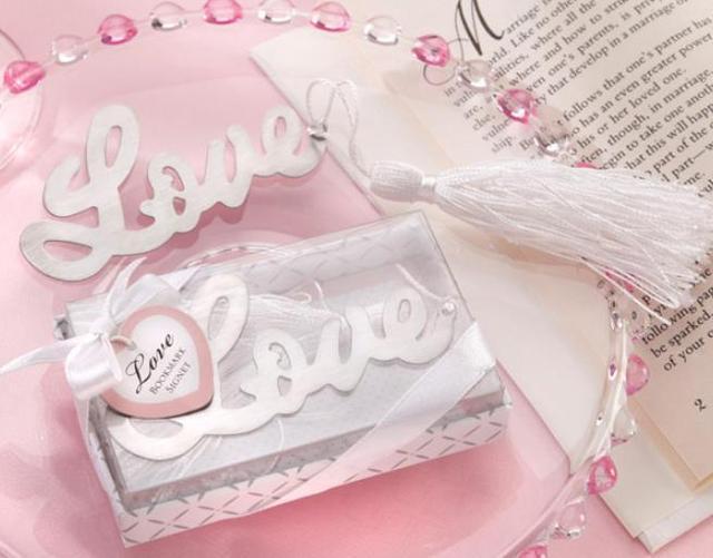 Aliexpress Buy 20pcs Love Bookmark Favor Wedding Favors And