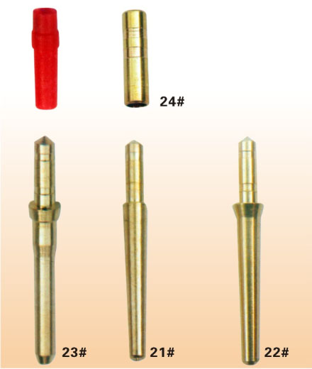 1000pcs Dental Laboratory special sets of Nails Brass Dowel Pins three different size choose