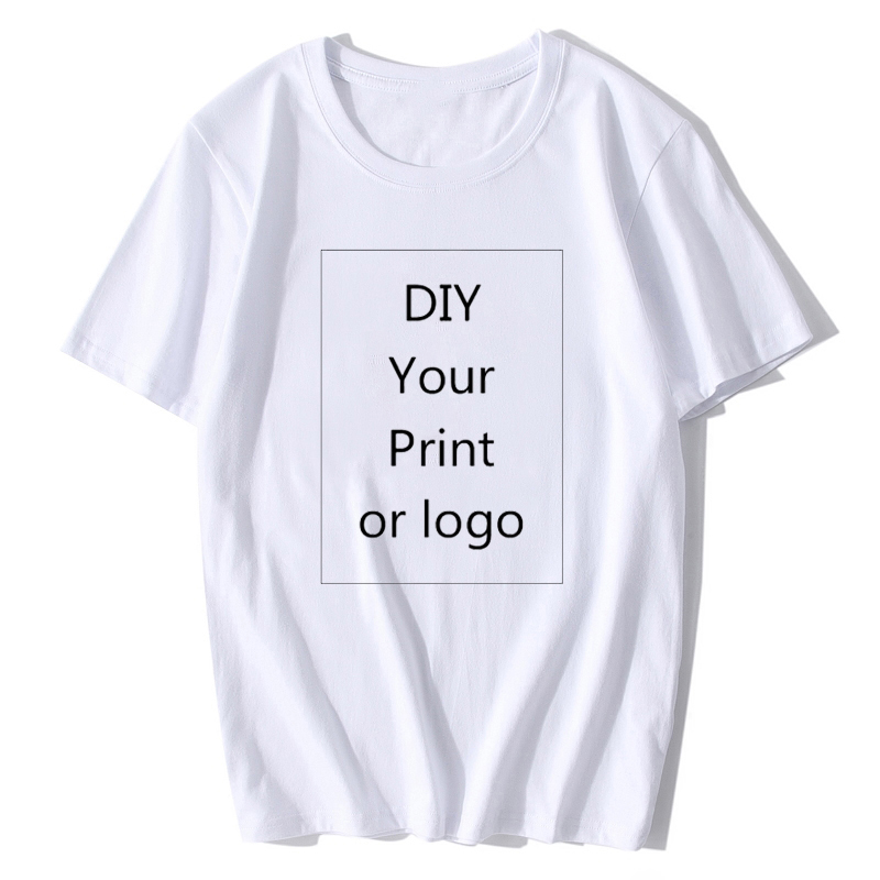 BTFCL 2019 Customized Men Women T Shirt Print Like Photo Or Logo Text DIY Your OWN Design 100% Cotton Stranger Things TShirt