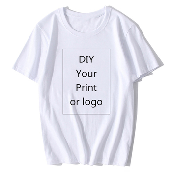 BTFCL 2019 Customized Men Women T Shirt Print Like Photo or Logo Text DIY Your OWN Design 100% Cotton Stranger Things TShirt