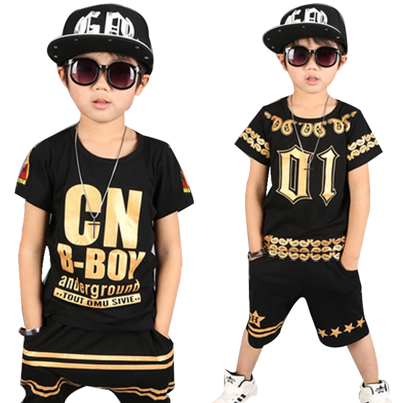 children tracksuits 4-12Y Boys Clothing Enfant tshirt+harem pant Fashion Boy Clothes Cool Kids Hip Hop Clothing Sports Suit children clothing set kids tracksuit sports suit boy girls fashion camouflage hoodies harem pants kids hip hop clothes