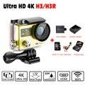 Action Camera Deportiva EKEN H3/ H3R Remote Ultra HD 4K WiFi 2.0 LCD 170D Sports go Underwater 30M Waterproof pro Outdoor Camera
