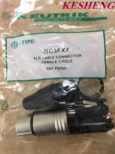 Image 3 - 10PCS/5PCS NC3MXX & 5PCS NC3FXX For NEUTRIK Male and female A set 3 Pin XLR Connector withe high quality