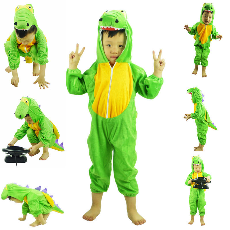 Children 39 s Crocodile Costumes Halloween Cosplay Activity Show Animal Costumes Dinosaur Dance Animal Costumes For Girls Boys in Clothing Sets from Mother amp Kids