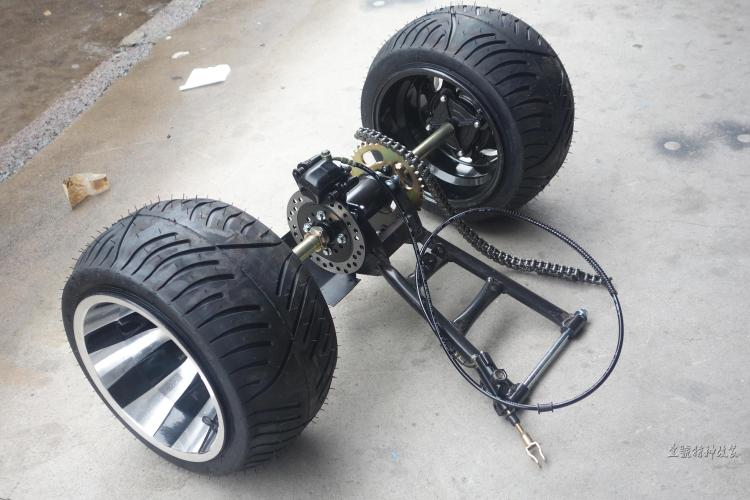 Diy Go Kart Karting Atv Utv Buggy Hand Disc Rotor Brake Pump Caliper Sprocket Rear Axle Swingarms With 8 Inch Wheel Tires Atv,rv,boat & Other Vehicle