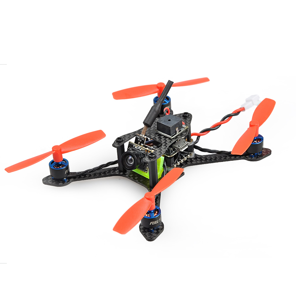 JMT Bat-100 100MM Carbon Fiber DIY FPV Micro Brushless Racing Airplanes Drone BNF with Frsky/Flysky/DSM-X WFLY RX Receiver toad 90 micro fpv racing drone bnf quadcopter betaflight f3 dshot built in osd with frsky flysky dsm 2 x rx receiver f21372