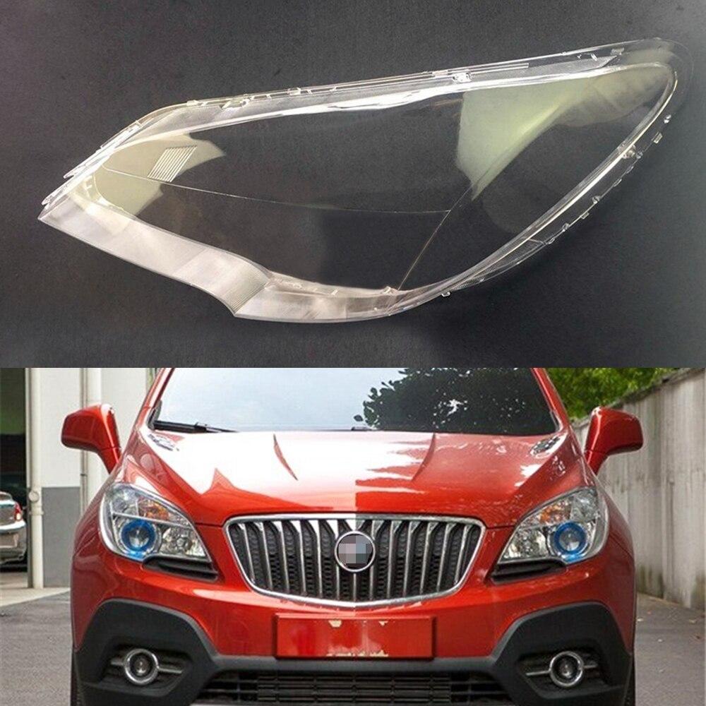 For Buick Encore 2013 2014 2015 Car Headlight Headlamp Clear Lens Auto Shell Cover
