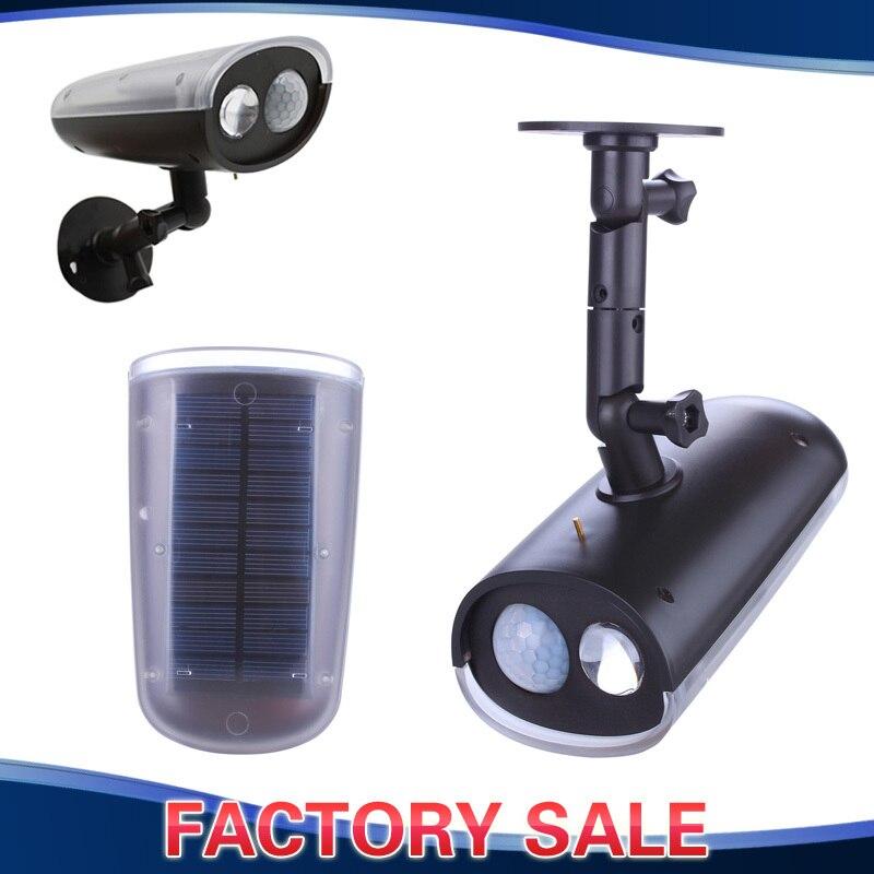 Led Garage Lights Battery: Felxible Solar Lamp Spotlight Motion Activated LED Sensor
