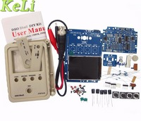 Free Shipping 1set Sets Agoal Exclusive Orignal Tech DS0150 15001K DSO SHELL DSO150 DIY Digital Oscilloscope