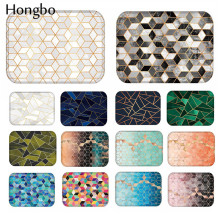 Hongbo 40*60cm Geometric Pattern Anti-Slip Carpet Door Mats Doormats Outdoor Kitchen Bathroom Living Room Floor Mat Rug