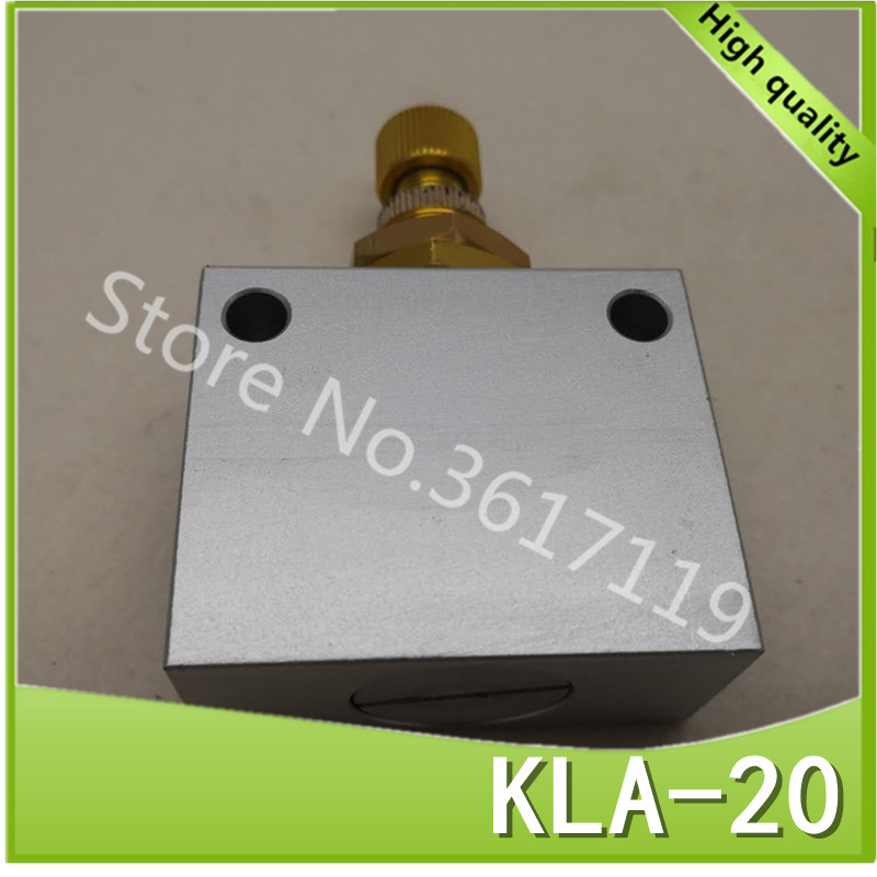 KLA-20 3/4 Pneumatic one-way throttle valve flow control control valve speed control valveKLA-20 3/4 Pneumatic one-way throttle valve flow control control valve speed control valve