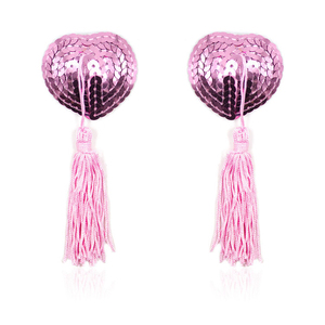 Image 1 - New Sex Toys for Couples Women Accessories Sequin Tassel Breast Bra Nipple Cover Pasties Sexy Erotic Tools For Women Lingerie