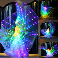 Upgrade LED Isis Wings Belly Dance Isis Wings Costume Cloak, Belly Dance performance clothing Dance Costume