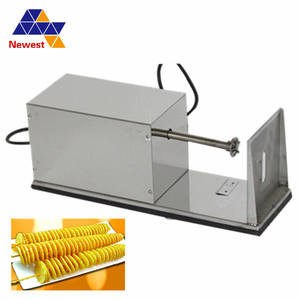 Potato-Slicer for Home Restaurant Batata-Machine Spiral-Cutter Cooking-Tools Manual-Twisted