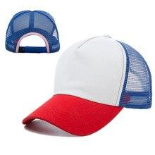 a84886dba8730 Unisex Dustin Cap Stranger Things Cap Summer Mesh Baseball Cap Adjustable  Dad Hats Trucker Hat Cap Cosplay Stranger Things Gorra