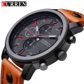 Genuine Curren Brand Design Leather Military Men Cool Fashion Clock Sport Male Gift Wrist Quartz Business Water Resistant Watch