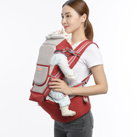 Benepig Breathable Ergonomic Baby Carrier Backpack Portable Infant Baby Carrier Kangaroo Hipseat Heaps Baby Sling Carrier Wrap