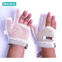 Medoboo Baby Gloves Newborn Anti-grip Anti-eating Hand Food-grade Teething Mitten Anti Scratching Protection Face *