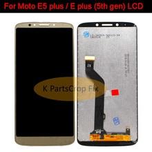 6.0 100% Test de bonne qualité pour Motorola MOTO E5 plus écran LCD avec assemblage de numériseur tactile pour Moto E Plus 5th gen