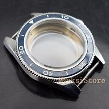 41mm Sapphire Crystal Case Fit Miyota 8205/8215, ETA 2836 DG2813/3804 Mannen WatchCase