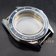 Funda de cristal de zafiro de 41mm compatible con Miyota 8205/8215,ETA 2836 DG2813/3804 funda de reloj para hombre