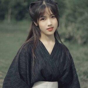 Image 5 - Truyền thống Nhật Bản bộ kimono Geisha Nhật Bản trang phục Obi Kimono haori kimono nhật bản người phụ nữ Geisha quần áo AA4410