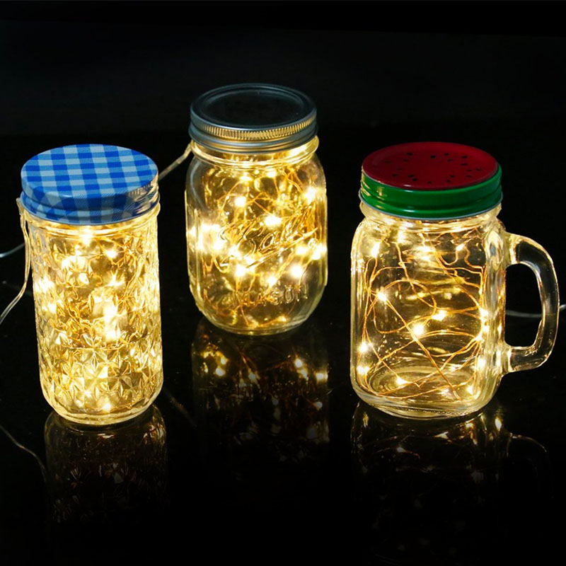 100x Led Tiny Micro Battery String Lights Copper Wire Bedroom ...