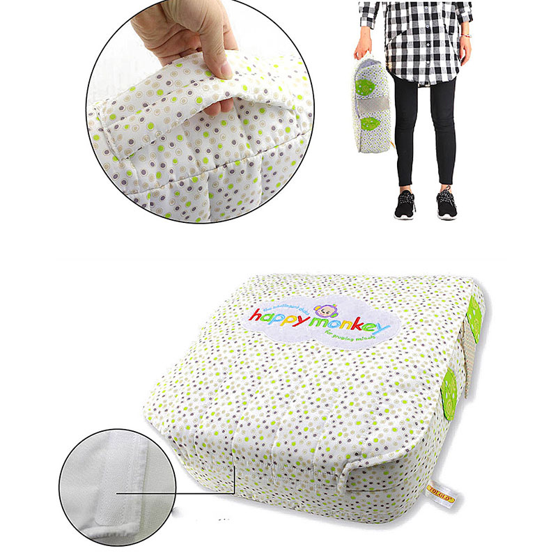 Portable Waterproof Baby Foldable Appease Bed Travel Crib