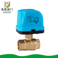 Factory Direct Brass Central Air Conditioning 4 Minutes 6 Points Electric Ball Valve From The Grant